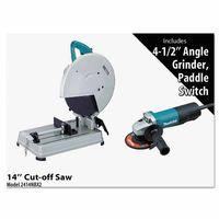 Makita Chop Saw and Angle Grinder Corded Kits