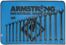 Armstrong Tools 14 Piece Black Combination Wrench Sets