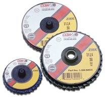 CGW Abrasives Flap Discs, Mini, Zirconia, Quick Change, Type R