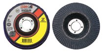 CGW Abrasives Flap Discs, Z-Stainless, Regular