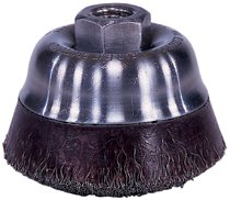 Weiler® Polyflex® Crimped Wire Cup Brushes