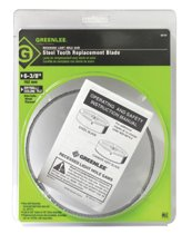 Greenlee® Steel-Toothed Recessed Light Hole Saw Replacement Blades