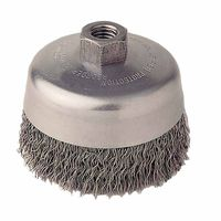 Weiler® Vortec Pro® Crimped Wire Cup Brushes