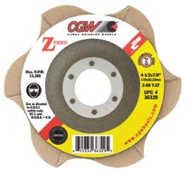 CGW Abrasives Z-Thru Flap Discs