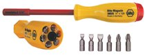 Wiha® Tools Insulated Six In One Driver Bit Sets