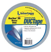 Intertape Polymer Group Anchor® 36 Heavy-Duty Contractor Grade Duct Tapes