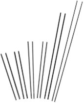 Arcair® Slice® Exothermic Cutting Rods-Uncoated