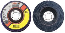 CGW Abrasives Flap Discs, Z3 -100% Zirconia, Regular