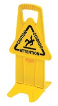 Rubbermaid Commercial Floor Stable Safety Signs