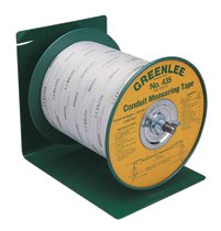 Greenlee® Conduit Measuring Tape Pay-Out Dispensers