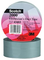 3M Electrical Scotch® Electricians Duct Tapes 2000