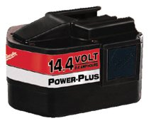 Milwaukee® Electric Tools Power-Plus 14.4V Batteries