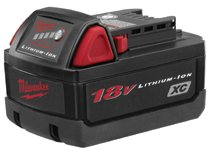 Milwaukee® Electric Tools 18V XC High Capacity Batteries