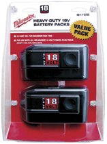 Milwaukee® Electric Tools Power-Plus 18V Batteries