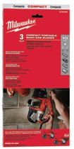 Milwaukee® Electric Tools Compact Band Saw Blades