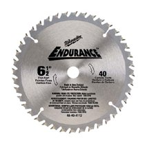 Milwaukee® Electric Tools Endurance® Carbide Circular Saw Blades