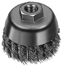 Milwaukee® Electric Tools Stainless Steel Knot Wire Cup Brushes