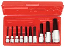 Proto® 10 Piece Hex Bit Socket Sets