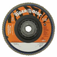Weiler® Trimmable Tiger® Flap Discs
