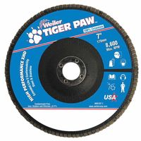 Weiler® Tiger Paw™ Super High Density Flap Discs