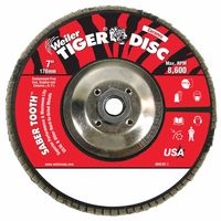 Weiler® Saber Tooth™ Ceramic Flap Discs