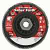 Weiler® Saber Tooth™ Trimmable Ceramic Flap Discs