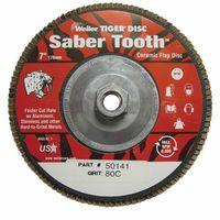Weiler® Saber Tooth™ Abrasive Flap Discs