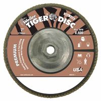 Weiler® Tiger Disc® Angled Style Flap Discs