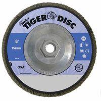 Weiler® Tiger® Disc Abrasive Flap Discs