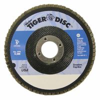 Weiler® Tiger Disc® Flat Style Flap Discs