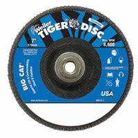 Weiler® Big Cat® High Density Flat Style Flap Discs