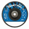 Weiler® Big Cat® High Density Flat Style Flap Discs