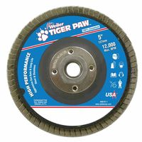 Weiler® Type 29 Tiger Paw™ Angled Flap Discs