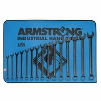 Armstrong Tools 12-Point Metric Long Combination Wrench Sets