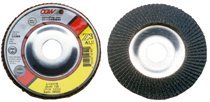 CGW Abrasives Flap Discs, Z3 -100% Zirconia, Aluminum Backed