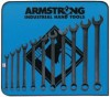 Armstrong Tools 11 Piece Black Combination Wrench Sets