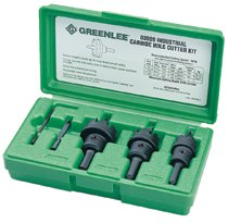 Greenlee® Carbide-Tipped Hole Cutter Kits