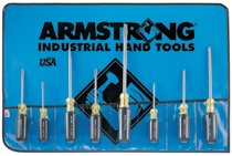 Armstrong Tools 8 Piece Screwdriver Sets