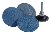 Norton NorZon Plus Speed-Lok TS Coated-Cloth Discs