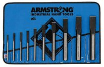 Armstrong Tools 10 Piece Cold Chisel Sets