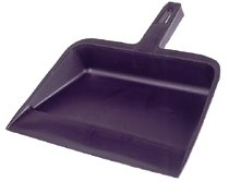Weiler® Vortec Pro® Molded Plastic Dust Pans