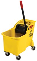 Rubbermaid Commercial Tandem™ Bucket and Wringer Combos