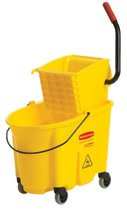 Rubbermaid Commercial WaveBrake™ Bucket/Wringer Combination Packs