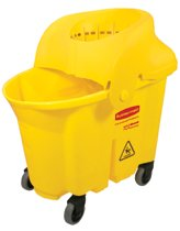 Rubbermaid Commercial Brute® Institutional Mop Bucket & Wringer