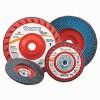 Carborundum White Resin Cloth Flap Discs