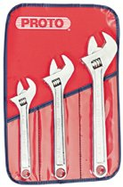Proto® Clik-Stop® 3 Piece Adjustable Wrench Sets