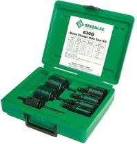 Greenlee® Quick Change Hole Saw Kits