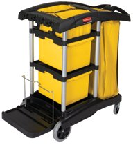 Rubbermaid Commercial HYGEN™ Microfiber Cleaning Carts