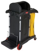 Rubbermaid Commercial High Security Healthcare Cleaning Carts