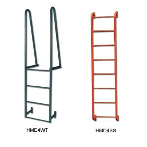 WELDED STEEL DOCK LADDERS